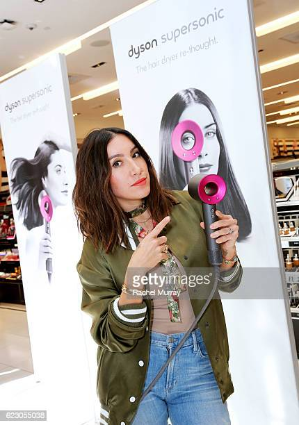 Celebrity hair stylist Jen Atkin makes a personal appearance with Dyson at Sephora for guest complimentary blowouts style demonstrations and the...