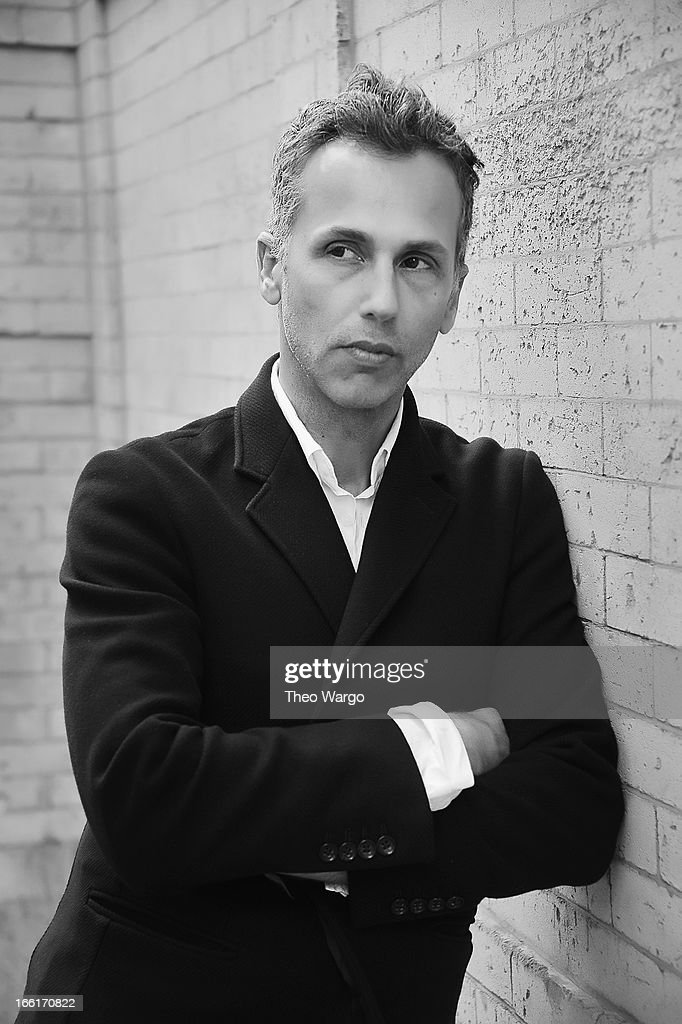 Celebrity hair stylist Mordechai Alvow attends a portrait session on April 9, 2013 in New York City.