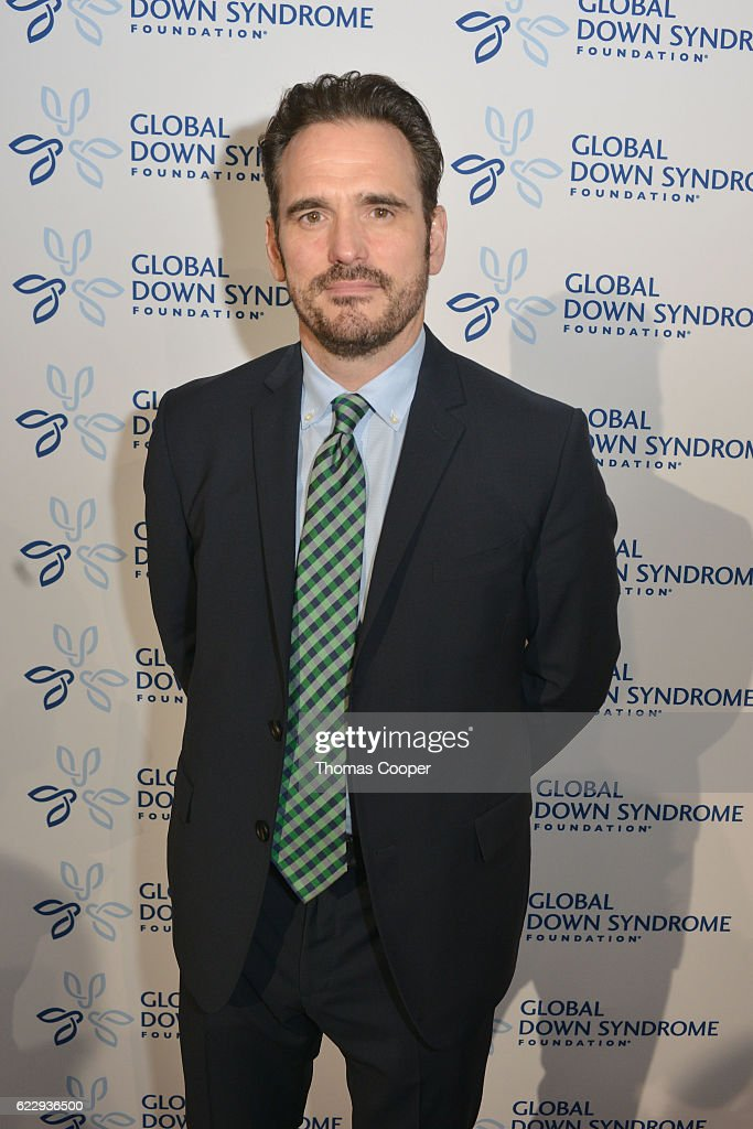 Celebrity Matt Dillon on the red carpet at the at Global Down Syndrome Foundation's 2016 'Be Beautiful Be Yourself' at the Hyatt Regency Denver at the Colorado Convention Center on November 12, 2016 in Denver, Colorado.