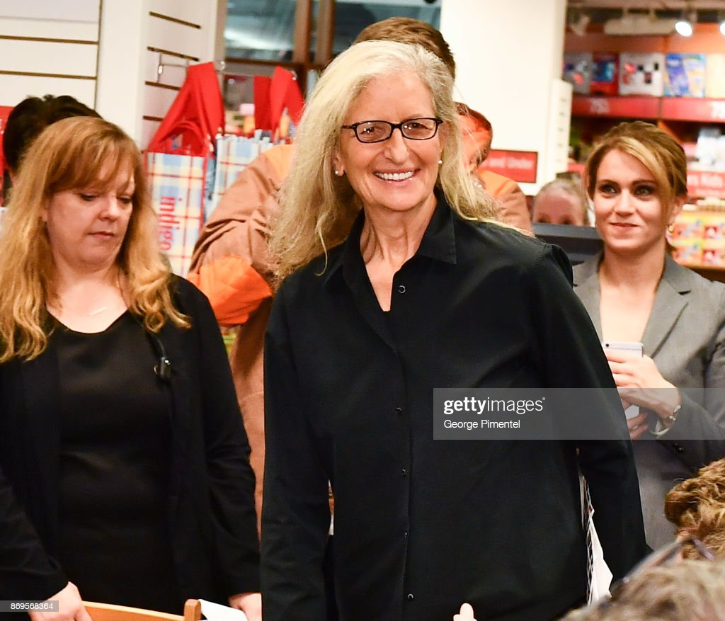 Celebrity Photographer Annie Leibovitz attends Annie Leibovitz: Portraits 2005-2016 Book Signing at Indigo Manulife Centre on November 2, 2017 in Toronto, Canada.