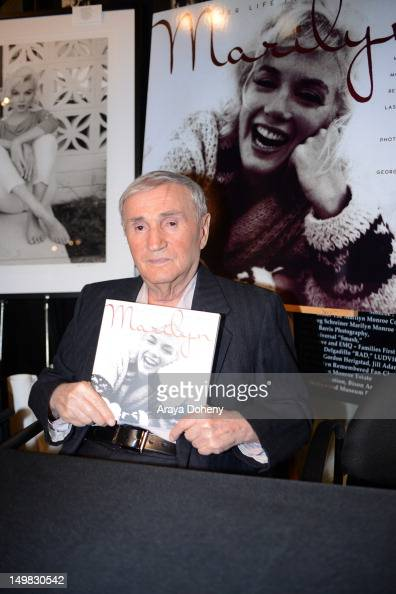 Celebrity photographer George Barris attends the book signing for 'Marilyn Her Life In Her Own Words Marilyn Monroe's Revealing Last Words And...