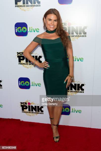 Celebrity Stylist Ali Levine arrives for the iGolive Launch Event at the Beverly Wilshire Four Seasons Hotel on July 26 2017 in Beverly Hills...
