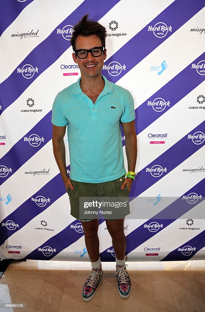 Celebrity stylist and TV personality <a gi-track='captionPersonalityLinkClicked' href=/galleries/search?phrase=Brad+Goreski&family=editorial&specificpeople=3255296 ng-click='$event.stopPropagation()'>Brad Goreski</a> attends the Women Who Rock event hosted by Kelly Rowland at day 2 of the Hard Rock Music Lounge at Hard Rock Hotel Palm Springs, on April 13, 2013, in Palm Springs, California.