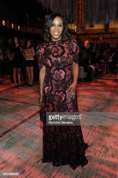 Celebrity Stylist June Ambrose attends the 2014 Ailey Spirit Gala After Party at David H Koch Theater at Lincoln Center on June 11 2014 in New York...