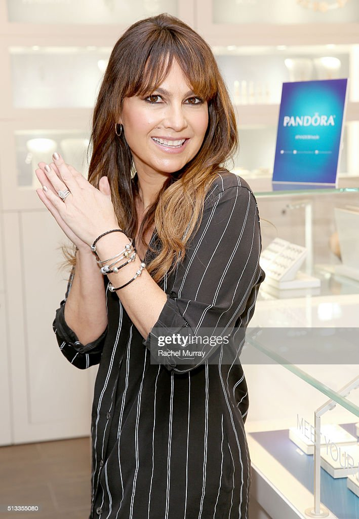 Celebrity Stylist, Nicole Chavez, At PANDORA Jewelry Store Santa Monica
