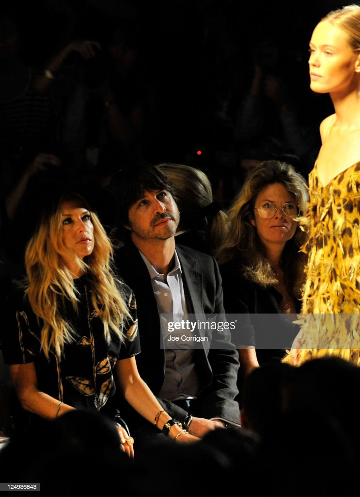Celebrity stylist <a gi-track='captionPersonalityLinkClicked' href=/galleries/search?phrase=Rachel+Zoe+-+Stylist&family=editorial&specificpeople=546501 ng-click='$event.stopPropagation()'>Rachel Zoe</a> and Rodger Berman attend the Michael Kors Spring 2012 fashion show during Mercedes-Benz Fashion Week at The Theater at Lincoln Center on September 14, 2011 in New York City.