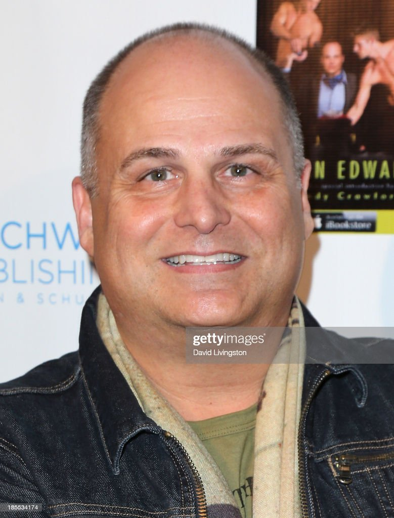 Celebrity talent executive/author Brian Edwards attends the launch party for Brian Edwards' book 'Enter Miss Thang' at Cafe Habana on October 21, 2013 in Malibu, California.