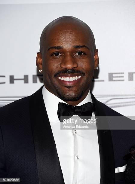 Celebrity trainer Dolvett Quince arrives at NBCUniversal's 73rd Annual Golden Globes After Party at The Beverly Hilton Hotel on January 10 2016 in...