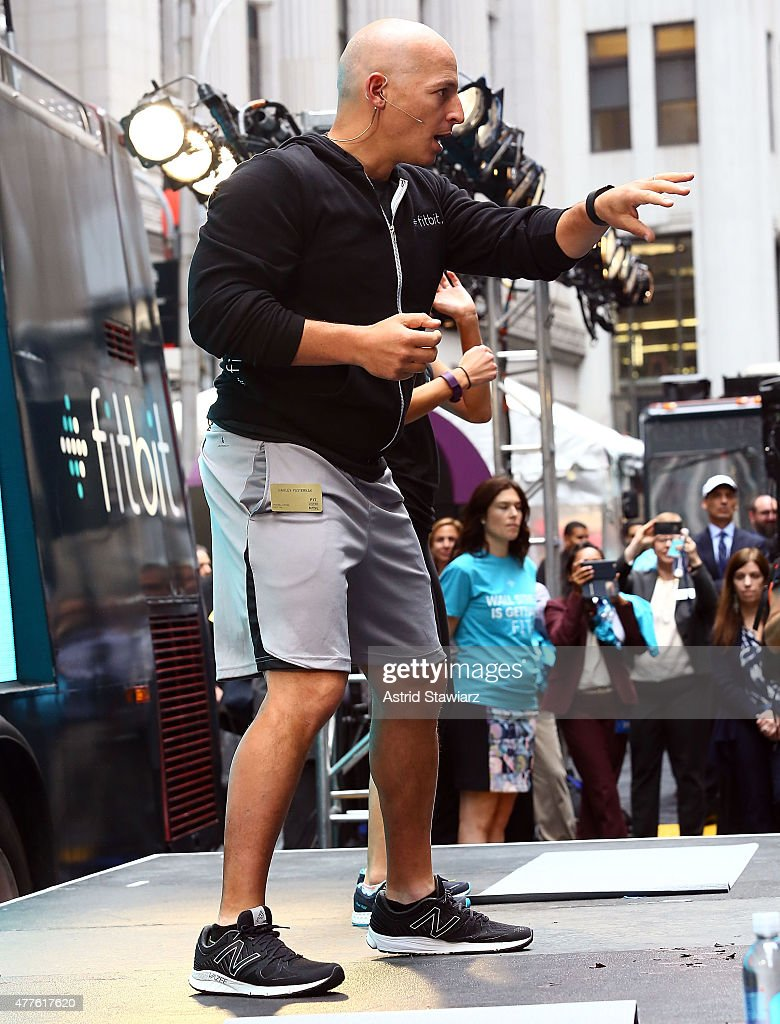 At the fitbit ipo celebration at new york stock exchange on thursday - Celebrity Trainer Harley Pasternak Attends The Fitbit Ipo Celebration At New York Stock Exchange On June