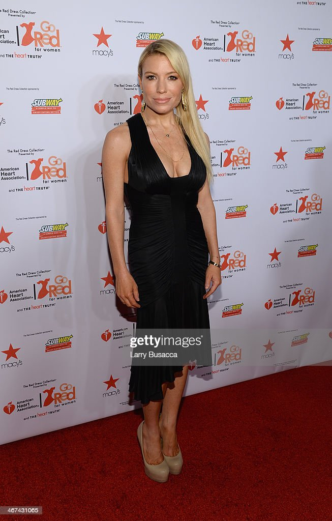 Celebrity trainer Tracy Anderson attends Go Red For Women The Heart Truth Red Dress Collection 2014 Show Made Possible By Macy's And SUBWAY...