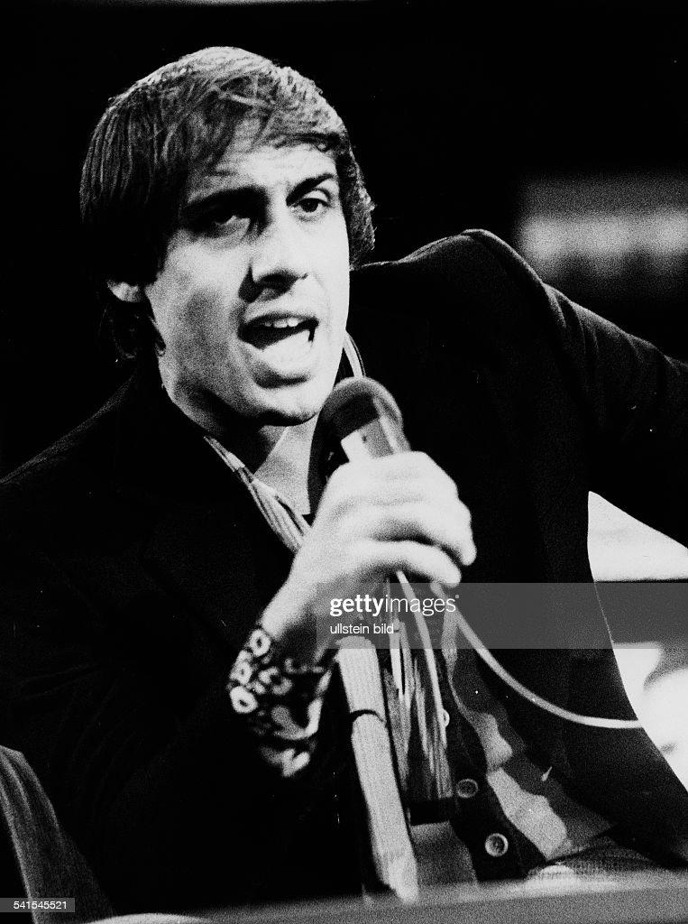 Celentano Adriano * actor singer Italy portrait no date probably 1970ies