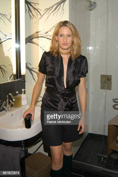 Celerie Kemble attends Oxfam America Charity Event at 'Esquire Downtown' at Astor Place at Esquire Downtown at Astor Place on October 7 2005 in New...