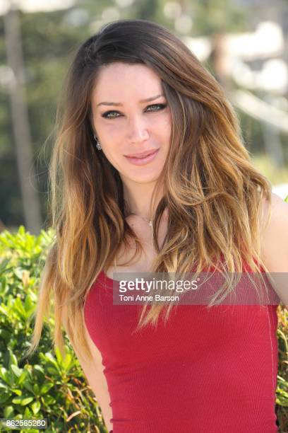 Celeste Fianna attends photocall for 'The Bay' as part of MIPCOM 2017 at the Palais des Festivals on October 17 2017 in Cannes France