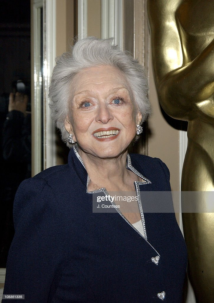 Celeste Holm during The Academy of Motion Picture Arts & Sciences 2004 Oscar Night Party at Le Cirque 2000 in New York City, United States.