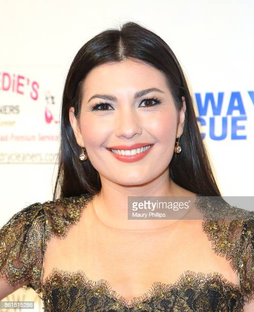 Celeste Thorson attends Broadway to The Rescue a benefit for the homeless at The Montalban Theater on October 14 2017 in Los Angeles California