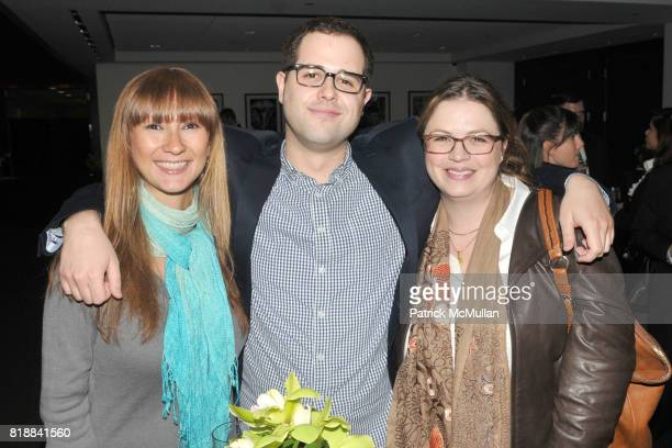Celeste Wolter Mike Giaccio and Kristie Stiles attend TIME INC Live and Unfiltered Presents ROUGH JUSTICE Hosted by FORTUNE at Time and Life Building...