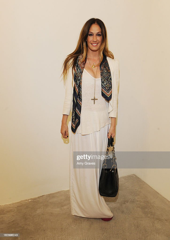 AJ Celi attends the Samuel Bayer Ace Gallery Exhibit Opening, presented by Panavision at Ace Gallery on March 2, 2013 in Beverly Hills, California.