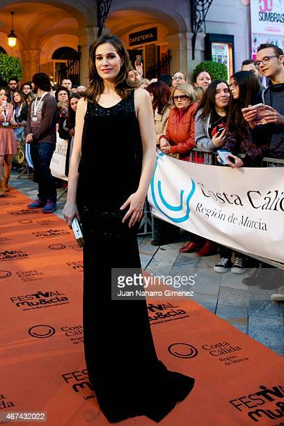 Celia Freijeiro attends 'Seis Hermanas' premiere during FesTVal Murcia 2015 on March 24 2015 in Murcia Spain