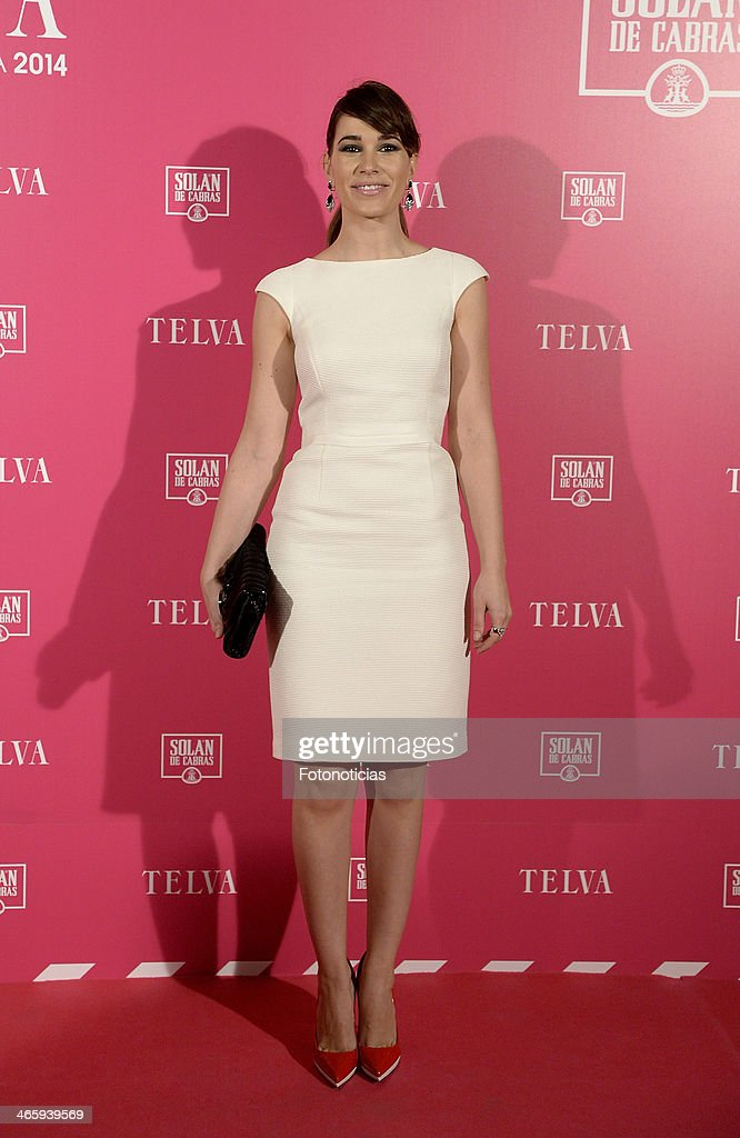 <a gi-track='captionPersonalityLinkClicked' href=/galleries/search?phrase=Celia+Freijeiro&family=editorial&specificpeople=7503623 ng-click='$event.stopPropagation()'>Celia Freijeiro</a> attends 'T de Telva' beauty awards 2014 at the Palace Hotel on January 30, 2014 in Madrid, Spain.