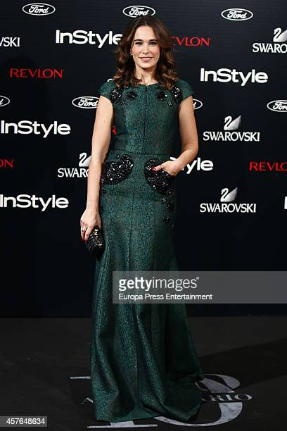 Celia Freijeiro attends the InStyle Magazine 10th anniversary party on October 21 2014 in Madrid Spain