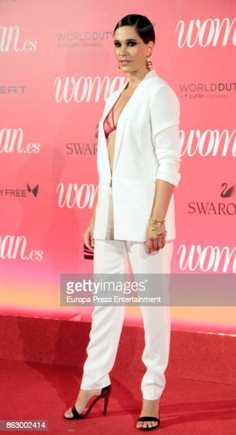 Celia Freijeiro attends the 'Woman 25th anniversary' photocall at Madrid Casino on October 18 2017 in Madrid Spain