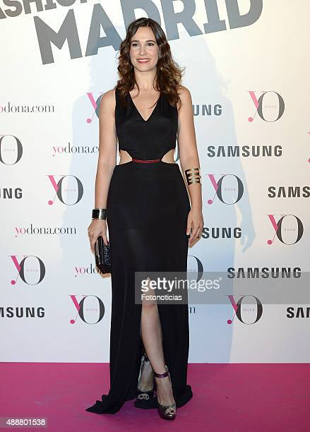 Celia Freijeiro attends the 'Yo Dona' Party at the NH Collection Eurobuilding Hotel on September 17 2015 in Madrid Spain