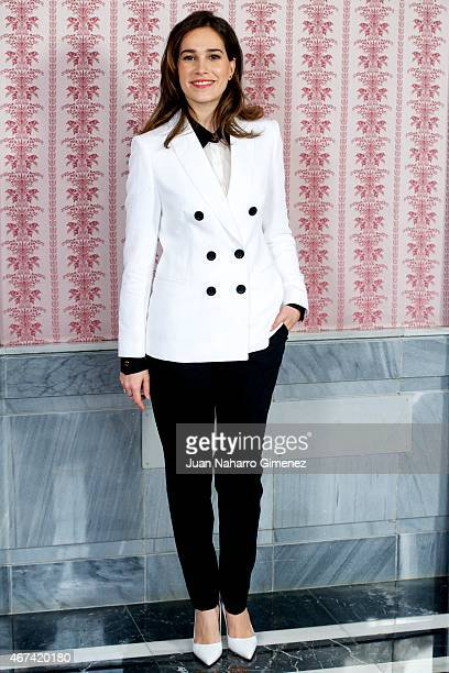 Celia Freijeiro Mariona attends the 'Seis Hermanas' photocall during FesTVal Murcia 2015 on March 24 2015 in Murcia Spain