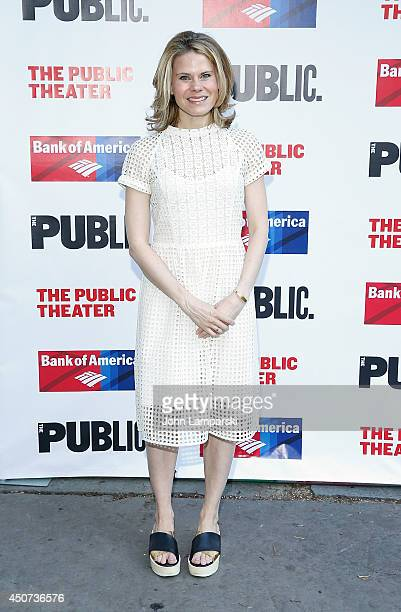 Celia KeenanBolger attends The Public Theater's Opening Night Of 'Much Ado About Nothing' at Delacorte Theater on June 16 2014 in New York City