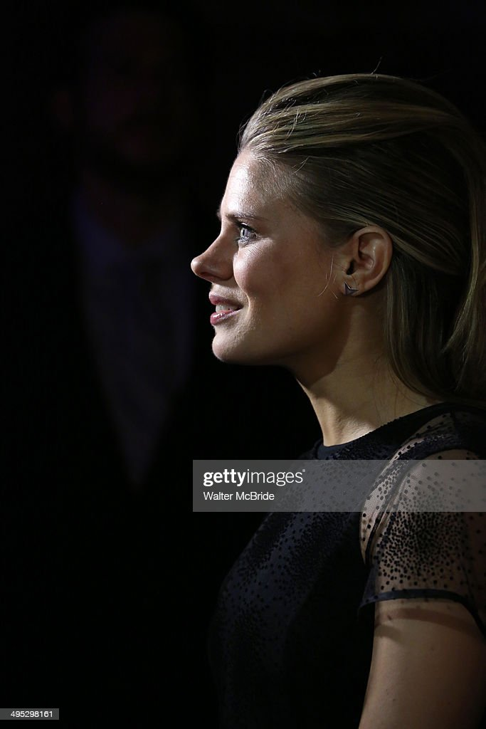 <a gi-track='captionPersonalityLinkClicked' href=/galleries/search?phrase=Celia+Keenan-Bolger&family=editorial&specificpeople=2300337 ng-click='$event.stopPropagation()'>Celia Keenan-Bolger</a> greets the press in the 2014 Drama Desk Awards press room at The Liberty Theatre on June 1, 2014 in New York City.