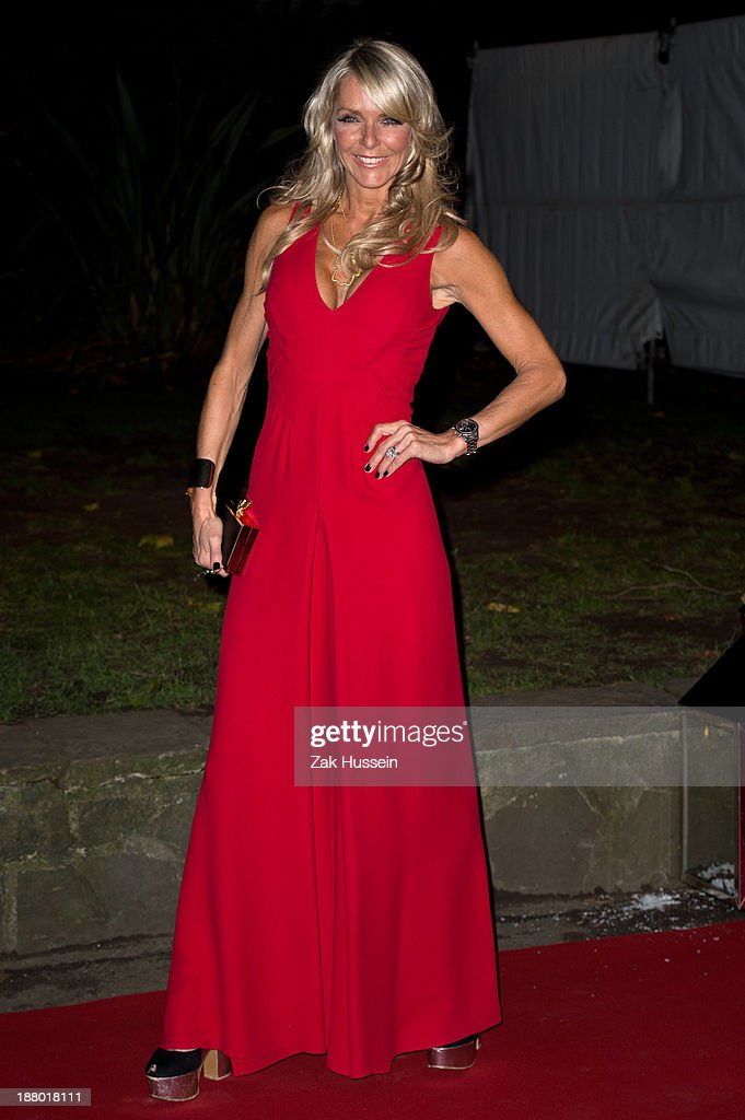 Celia Sawyer arrives at the Chain Of Hope Annual Ball at Supernova, Embankment Gardens on November 14, 2013 in London, England.
