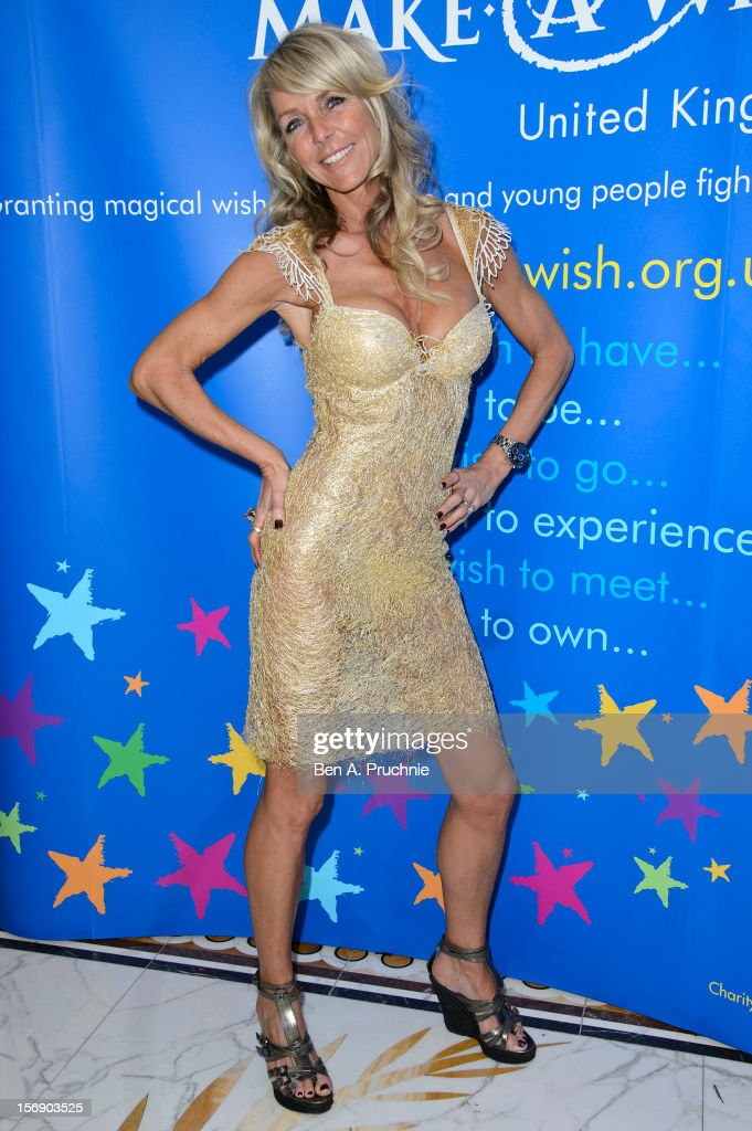 Celia Sawyer attends Make-A-Wish Foundation UK Winter Ball 2012 held at The Dorchester on November 24, 2012 in London, England.
