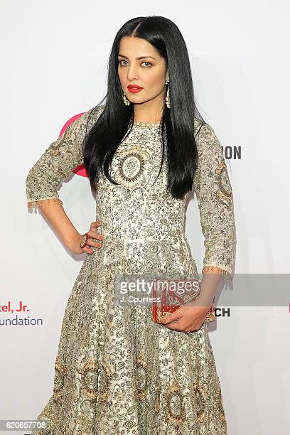 Celina Jaitley attends 15th Annual Elton John AIDS Foundation An Enduring Vision Benefit at Cipriani Wall Street on November 2 2016 in New York City