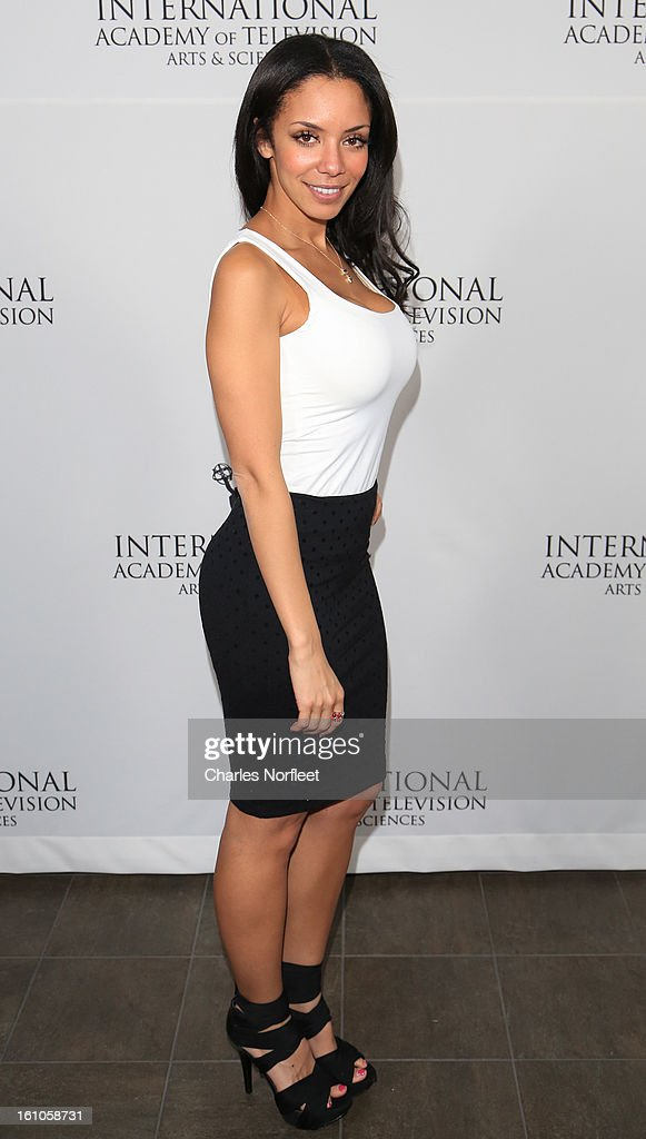 Celina Mziray attends The Inaugural International Emmy Kids Awards at The Lighthouse at Chelsea Piers on February 8, 2013 in New York City.