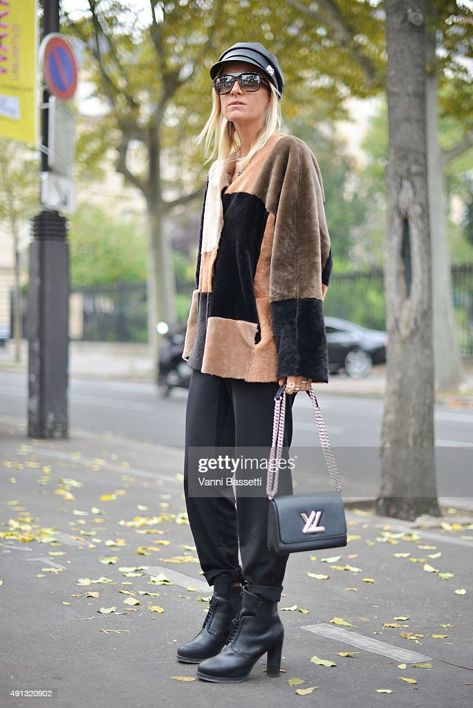 Street Style Paris Fashion Week Womenswear Spring Summer 2016 Day Six Getty Images