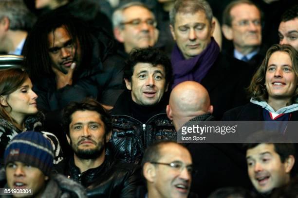 Celine BOSQUET / Christian KAREMBEU / Patrick BRUEL / Bixente LIZARAZU / Fabien BARTHEZ PSG / Marseille 12eme journee de Ligue1
