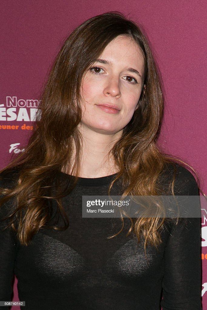 Celine Devaux attends the 'Cesar 2016- Nominee luncheon' at Le Fouquet's on February 6, 2016 in Paris, France.