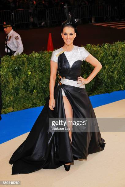Celine Dion at 'Rei Kawakubo/Comme des GarçonsArt of the InBetween' Costume Institute Gala at Metropolitan Museum of Art on May 1 2017 in New York...