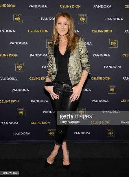 Celine Dion attends Pandora Presents Celine Dion at The Edison Ballroom on October 29 2013 in New York City