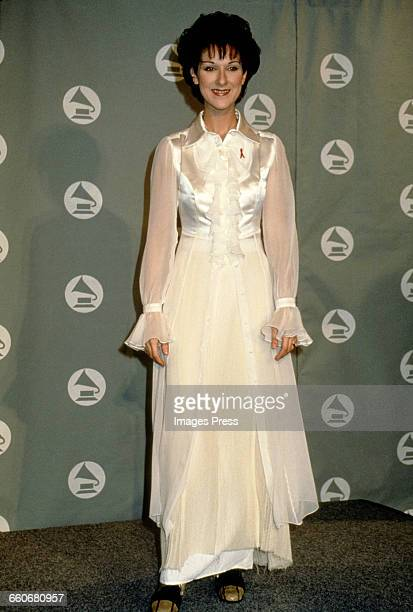Celine Dion attends the 36th Annual Grammy Awards held at Radio City Music Hall circa 1994 in New York City