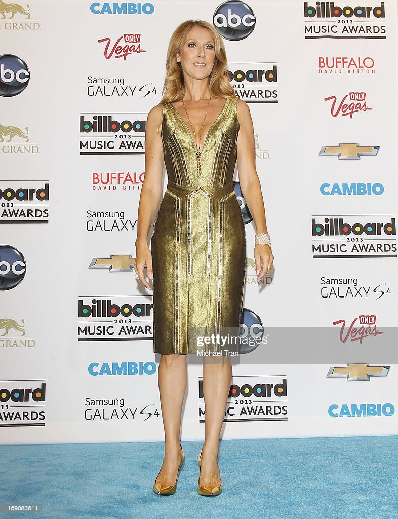 Celine Dion attends the press room at the 2013 Billboard Music Awards held at MGM Grand Resort and Casino on May 19, 2013 in Las Vegas, Nevada.