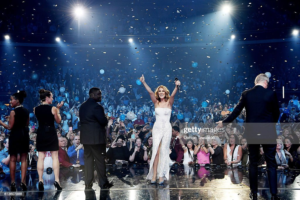 Celine Dion Celebrates 1,000th show At The Colosseum At Caesars Palace