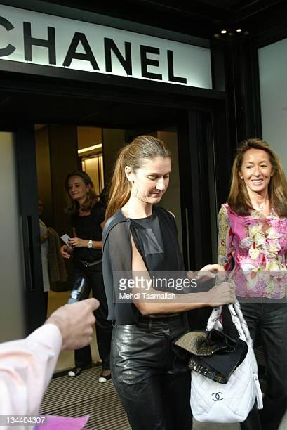 Celine Dion during Celine Dion Sighting at Chanel in Paris October 11 2005 at Chanel Paris in Paris France