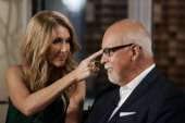 KATIE 4/25/13 Celine Dion invited Katie Couric into her recording studio for an exclusive conversation about her family her husband's cancer...