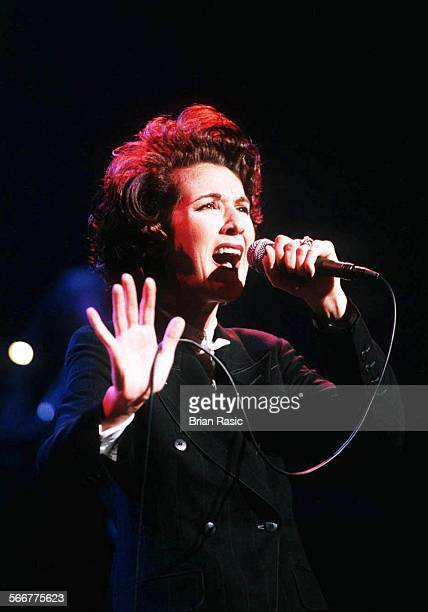 Celine Dion Performing In Concert At The Cambridge Theatre In London Britain 1994 Celine Dion