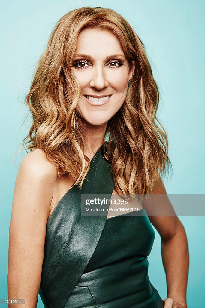Celine Dion poses for a portrait at the 2015 Billboard Music Awards on May 17, 2015 in Las Vegas, Nevada.