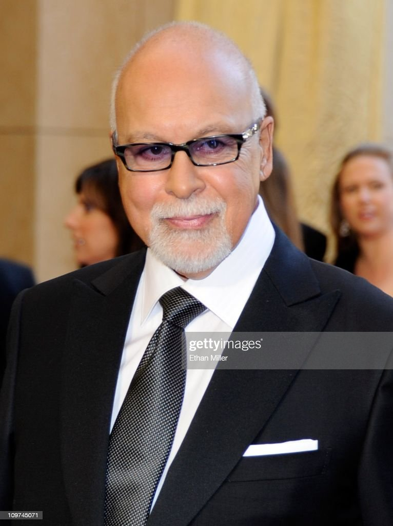 Celine Dion's husband and manager Rene Angelil arrives at the 83rd Annual Academy Awards at the Kodak Theatre February 27, 2011 in Hollywood, California.