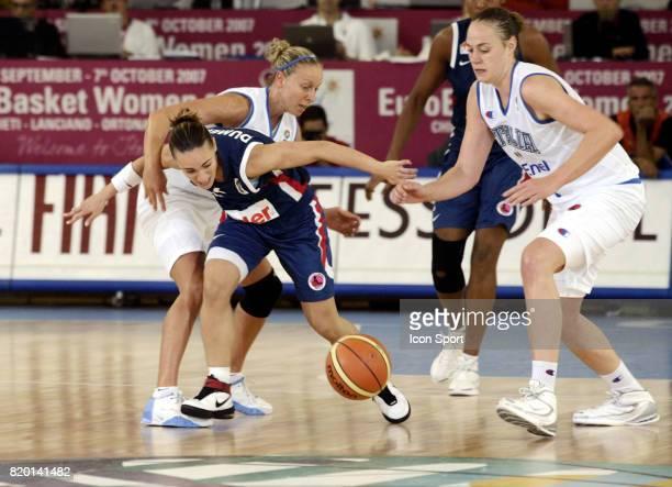 Celine DUMERC France / Italie Championnats d'Europe de Basket Ball 2007