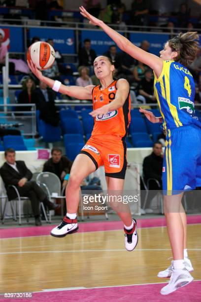 Celine DUMERC Bourges / Calais Open LFB Stade Pierre de Coubertin Paris France