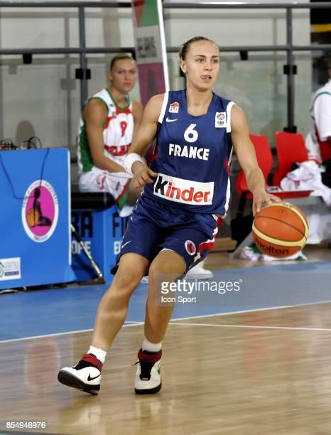 Celine DUMERC France / Bielorussie Championnats d'Europe de Basket Ball 2007