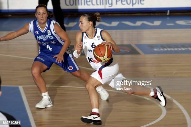 Celine DUMERC France / Grece Eurobasket Feminin 2007 Italie
